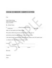 Sample Of Authorization Letter As Guardian Best Photos Of Legal Guardianship Letter Sample
