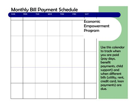 15 contract payment schedule templates sample example free