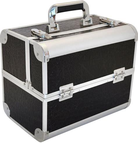 Sts45 Tas P Da Croco bol nagelstyliste koffer tas croco zwart