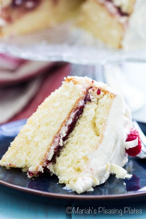 White Chocolate Raspberry Cake   Recipe   Beautiful