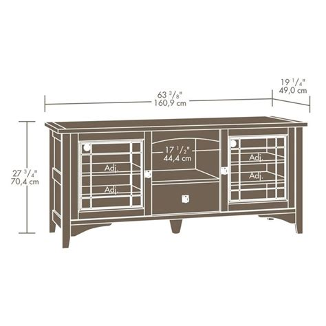 entertainment tv stand in oak 404867