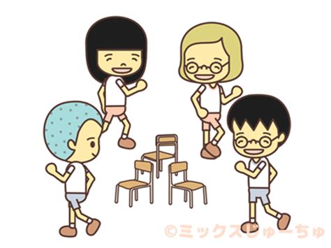 Musical Chair Songs by Musical Chairs Japanese Children S Mixed Juichu