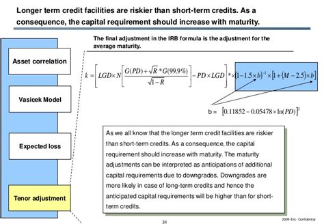 Vasicek Formula Credit Risk Eric On Economic Capital Modeling