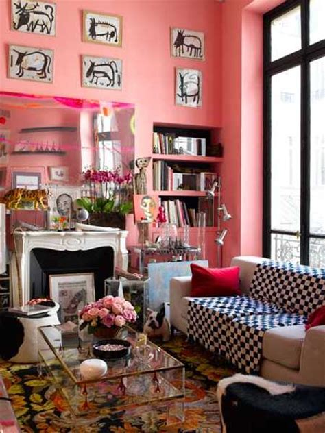 Kitschy Living Room by Casual Modern Living Room Designs With Colorful Decor