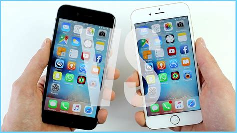 comparatif iphone 6s vs iphone 6 quelles diff 233 rences