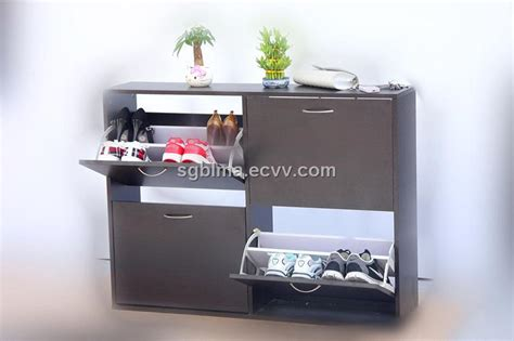Deodorization and Sterilization MDF Modern Shoe Rack Designs Wood purchasing, souring agent
