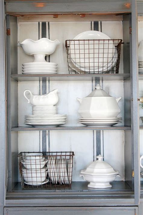 How To Organize A China Cabinet by Organize This China Cabinet