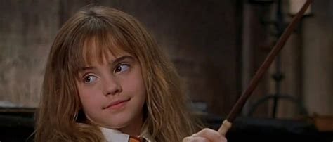 hermione granger in the 1st movoe photo of emma watson portraying quot hermione granger quot from
