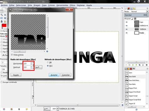tutorial gimp en pdf tutorial texto 3d en gimp taringa