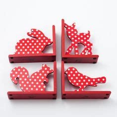 animal polka dot bookends kid crave polka dots red animal bookend