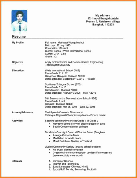 how to make a resume with no experience cover letter sample resume