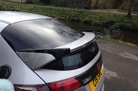 honda civic fn fk fn carbon fiber rear spoiler