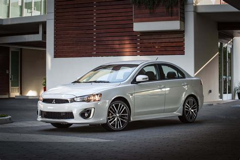 mitsubishi lancer 2017 mitsubishi lancer reviews and rating motor trend