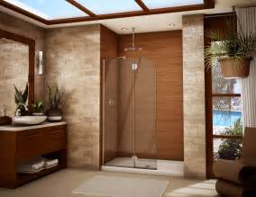 wooden shower doors shower doors framed and frameless glass binswanger