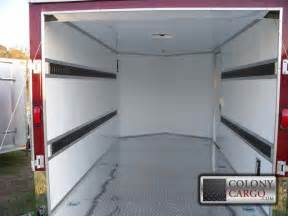 E Track Cargo Management System Colony Cargo Trailers And More Serving The Southeast Us