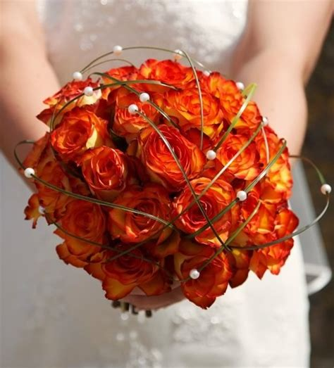 Fall Wedding Flower Ideas by Sparkling Events Designs Fall Wedding Flowers