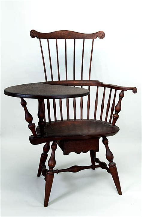 Writing Chair by Writing Arm Chair