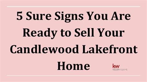 5 signs you are ready to enroll in an online mba program 5 sure signs you are ready to sell your candlewood