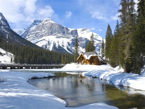 columbia canada winter snow and trees chrome refillable lighter 15621702 cdg emerald lake yoho national park canada jigsaw puzzle in great sightings puzzles on