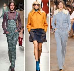 Fall winter 2015 2016 fashion trend 2 70s chic style warps into