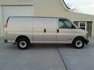 buy used 1998 chevy express 1500 cargo only 60 000