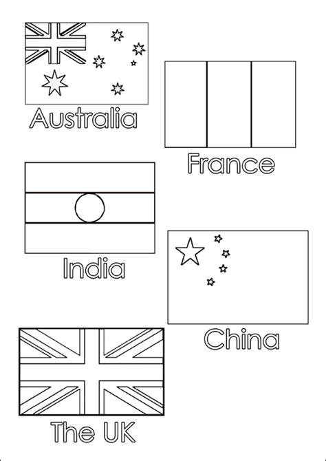 worksheets countries