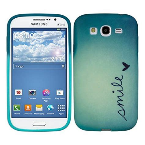 Samsung Grand Neo Grand Duos Gambar Keren kwmobile 174 tpu for samsung galaxy grand neo grand duos smile blue stylish designer