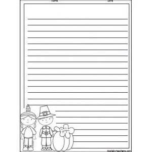 thanksgiving paper template 6 best images of thanksgiving writing paper printable pdf