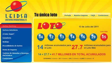 numeros ganadores de loteria leidsa dominicana loteria dominicana leidsa newhairstylesformen2014 com