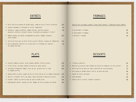 exle of layout of restaurant 45 inspiring exles of restaurant menu designs jayce