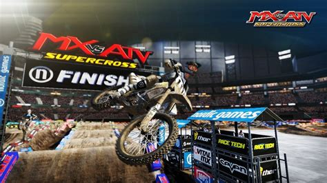 mx vs atv motocross e3 2014 get dirty with mx vs atv supercross