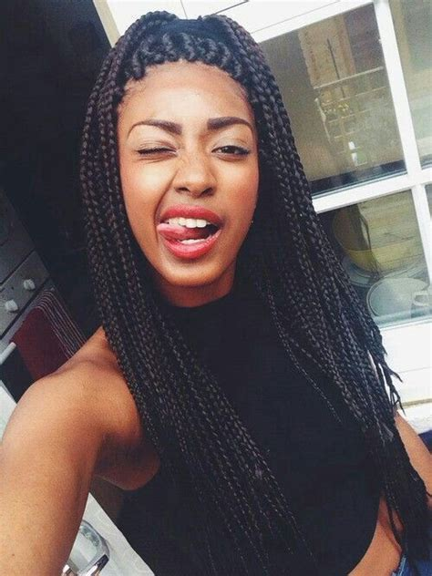 tweens box braids hairstyles with color cute box braids overfall do all me teen girl