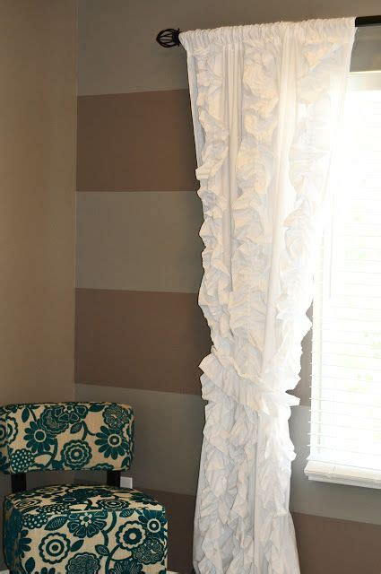 anthropologie curtains knock off in the corner ruffles and anthropologie on pinterest