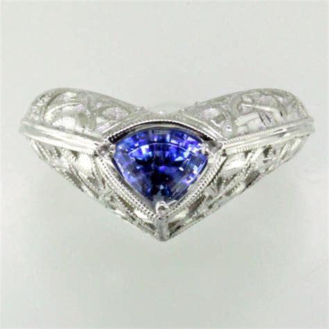 benitoite engagement ring benitoite jewelry www pixshark com images galleries