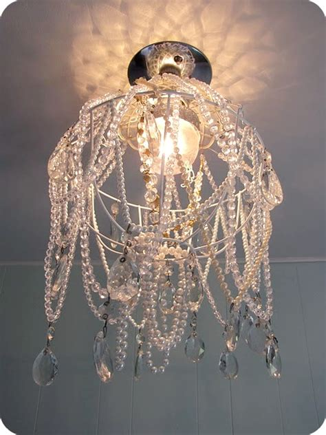 Diy Hanging Chandelier My House Of Giggles Diy Chandelier
