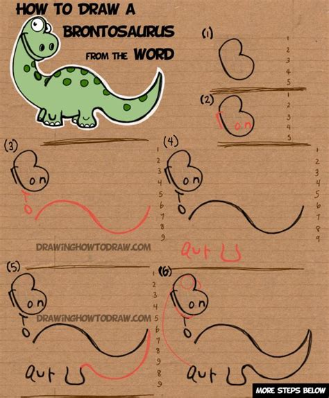 how to make a doodle name step by step best 10 dinosaur drawing ideas on kawaii