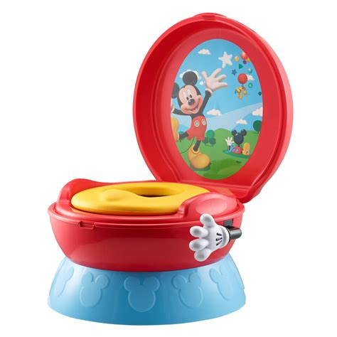 Safety 1st Clean Comfort 3 In 1 Potty Trainer by The Years 3 In 1 Potty System Mickey Mouse New Ebay