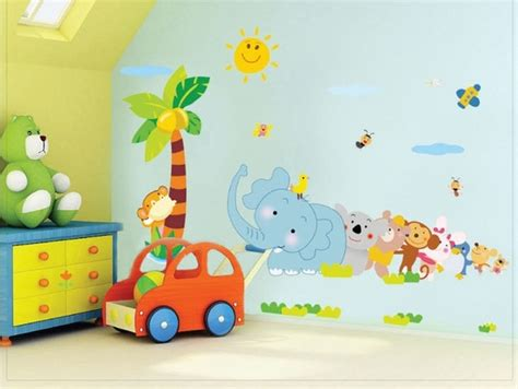 baby jungenzimmer childrens wall decals bedroom wall decoration