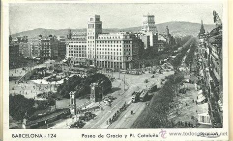 imagenes antiguas sin copyright 2 postales antiguas de barcelona del paseo de comprar en