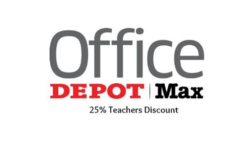 office depot coupons for teachers office max teachers discount 25 off southern savers