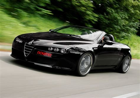 Alfa Romeo Spider by Novitec Alfa Romeo Spider Car Tuning
