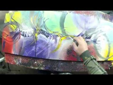 abstract acrylic painting beckley abstract acrylic painting demo hd lilium by