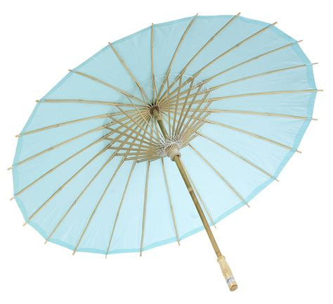 Paper Umbrella - 32 quot water blue paper parasol umbrellas on sale now