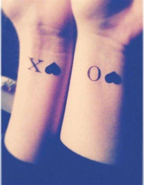 xoxo tattoo ideas 15 insanely cool best friend ideas tattoos that i