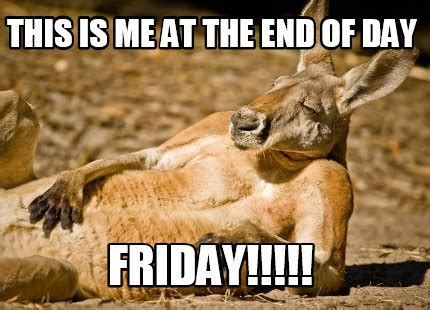 This Is The End Meme Generator - meme creator this is me at the end of day friday