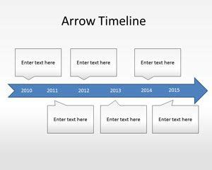 Powerpoint Timeline Template Free by Arrow Timeline Diagram Powerpoint Template Ppt Template