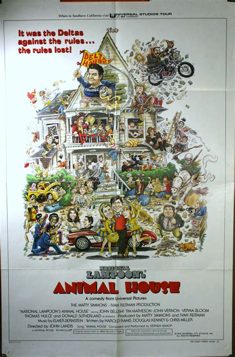 animal house poster animal house 1 sheet john belushi poster