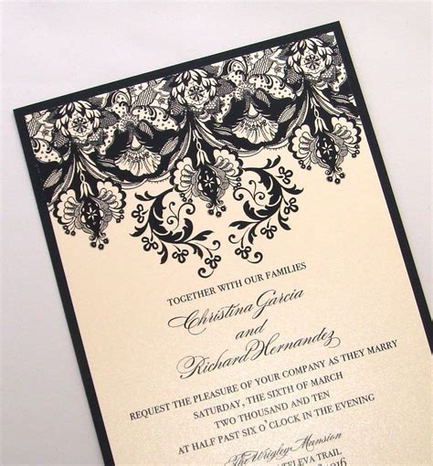 fancy card template idea wedding invitations wedding invitations ideas