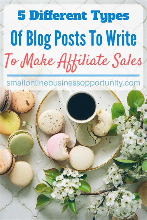 5 Sale Tastic Posts To Blogstalk by 5 Different Types Of Posts To Write To Make Affiliate