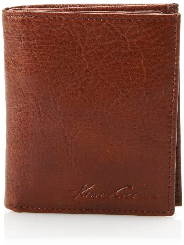 What Does Cowhide Mean Kenneth Cole Men S Fair And Square Lugano Wallet Brown